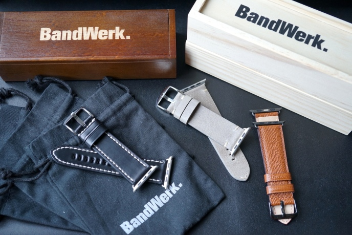 BandWerk Leather Apple Watch Band 85