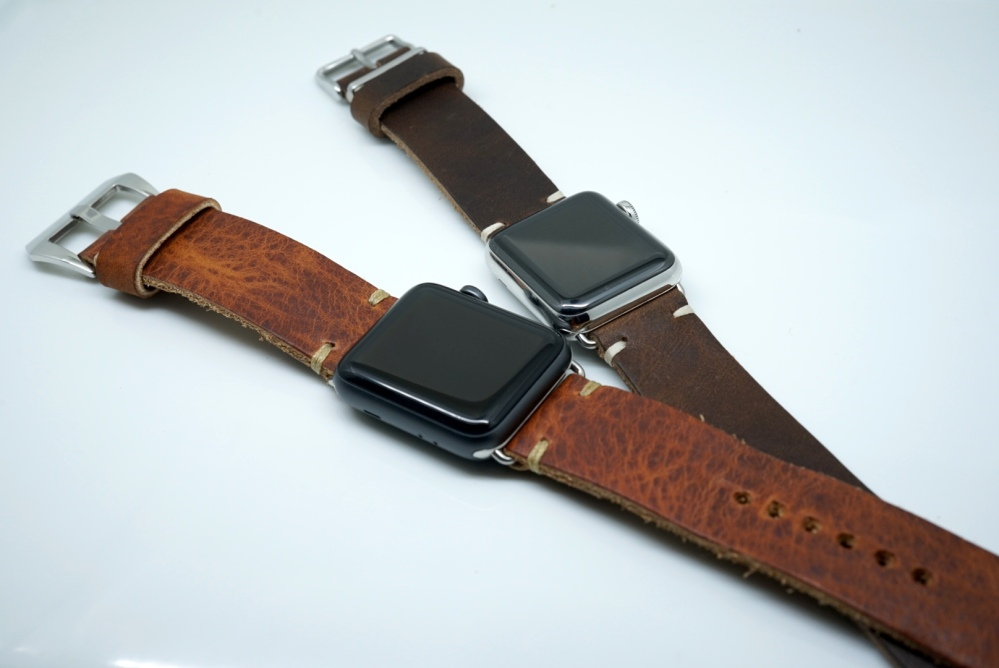 Review: FinWatchStrap Leather Apple Watch Bands