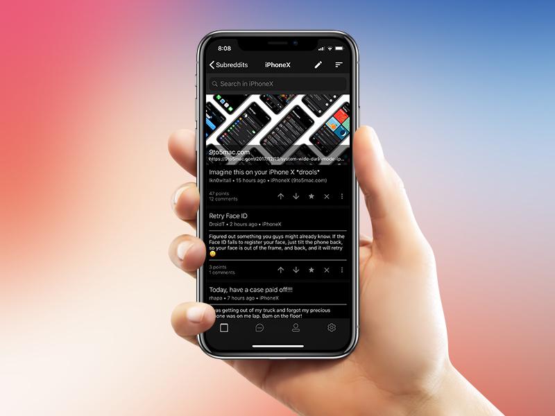 iPhoneX-Sync reddit1