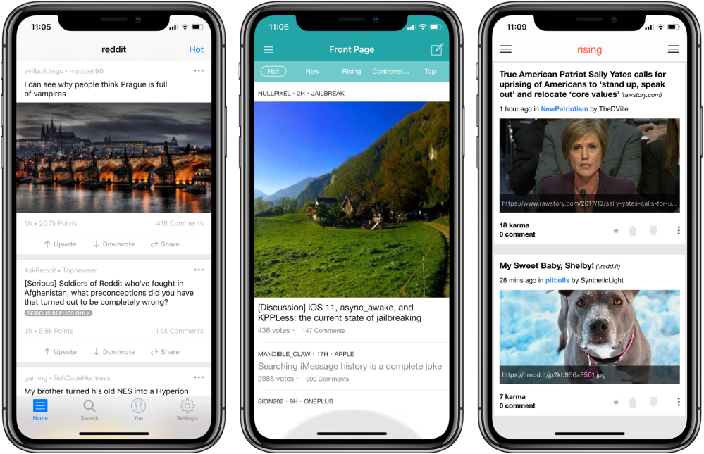 Top 5 Third-Party Reddit Apps for iPhone X – Superphen's
